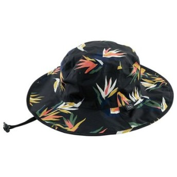(BACKYARD FAMILY/BACKYARD FAMILY)KiU UV & RAIN PACKABLE SAFARI HAT パッカブルサファリハット/レディース ブラック