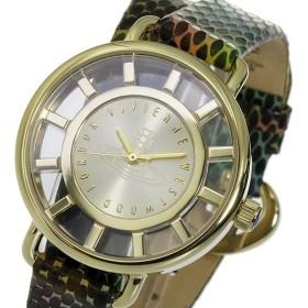 ヴィヴィアン ウエストウッド クオーツ レディース 腕時計 VV055GDSN ゴールド ゴールド