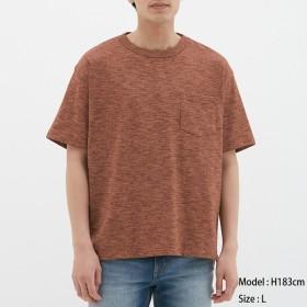 (GU)ビッグT(半袖)(メランジ) ORANGE XS