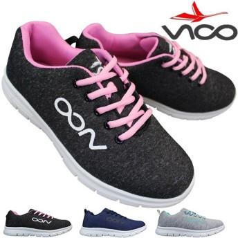 ヴィーコ VICO V-850 レディース ローカットスニーカー シューズ 靴 紐靴 運動靴 軽量 V850