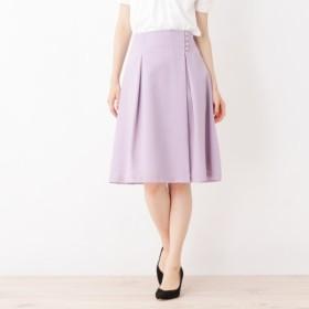 [マルイ]【セール】【洗える・42(LL)WEB限定サイズ】タックデザインスカート/インデックス(index)