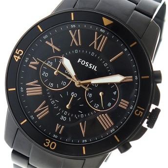 フォッシル FOSSIL クオーツ メンズ 腕時計 FS5374 ブラック ブラック