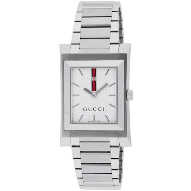 グッチ GUCCI GUCCIO クオーツ メンズ 腕時計 YA111302 シルバー シルバー