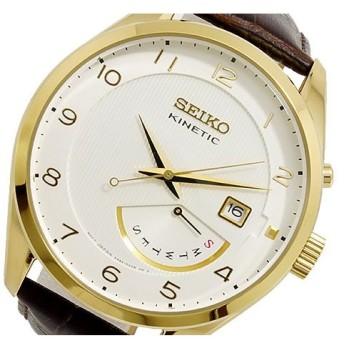 セイコー SEIKO KINETIC クオーツ メンズ 腕時計 SRN052P1 ホワイト