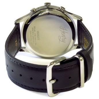 ヘンリーロンドン HENRY LONDON ハイゲート HIGHGATE ユニセックス 40mm クロノ 腕時計 HL41-CS-0011 ホワイト/ブラック ホワイト