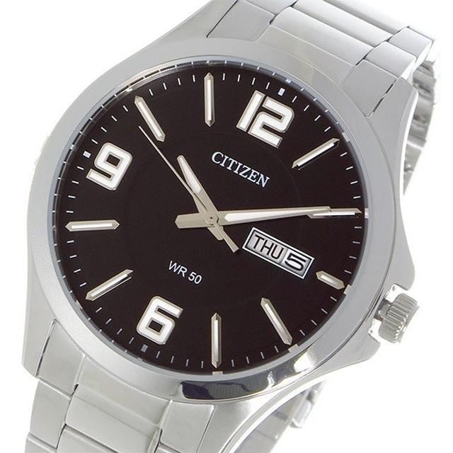 シチズン CITIZEN クオーツ メンズ 腕時計 BF2001-55E ブラック ブラック