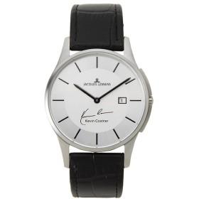 ジャックルマン ケビンコスナーモデル クオーツ メンズ 腕時計 11-1777G-1 シルバー シルバー