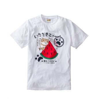 NECOBUCHI-SAN(ねこぶちさん)吸汗速乾プリント半袖Tシャツ Tシャツ・カットソー