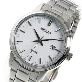 セイコー SEIKO クオーツ レディース 腕時計 SUR751P1 ホワイト ホワイト