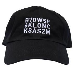 (KLON/クローン)KLON CAP 18 CHARACTERS BLACK/ユニセックス ブラック