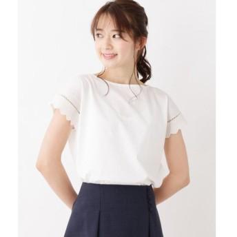 index / インデックス 袖刺繍デザインプルオーバー