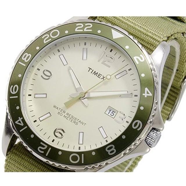 タイメックス TIMEX クオーツ メンズ クロノ 腕時計 T2P035 シャンパン