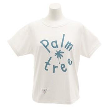 【Super Sports XEBIO & mall店:トップス】【オンライン特価】パームツリー 半袖Tシャツ CH2LS9509 WHT