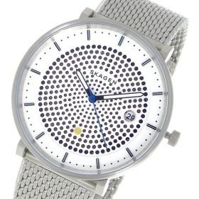 スカーゲン SKAGEN クオーツ レディース 腕時計 SKW6278 ホワイト ホワイト