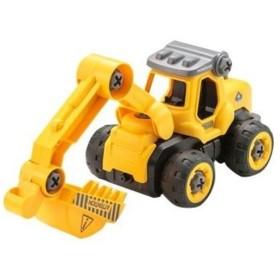 くみたてドライブ ショベルカー おもちゃ こども 子供 知育 勉強 3歳