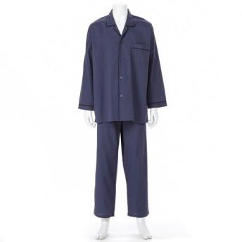 メンズ 紳士 ストライプ柄 長袖半袖2TOPパジャマ
