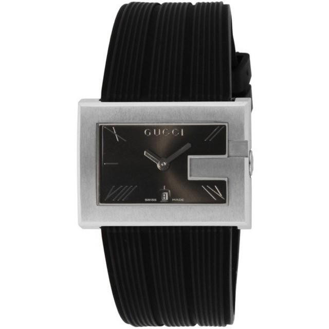 グッチ GUCCI Gレクタングル クオーツ メンズ 腕時計 YA100304 ブラック ブラック