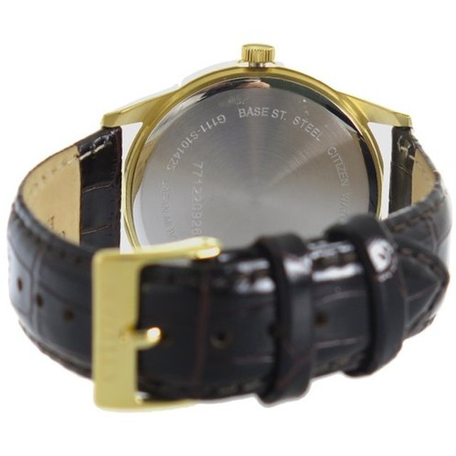 シチズン CITIZEN クオーツ メンズ 腕時計 BI5002-06E ブラック ブラック