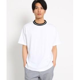 THE SHOP TK / ザ ショップ ティーケー ラインリブTシャツ