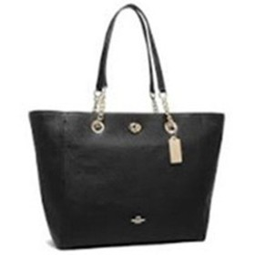 COACH コーチ Turnlock Chain Tote 56830