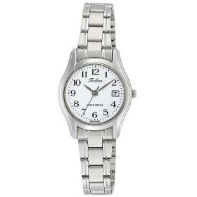 シチズン CITIZEN キューアンドキュー Q&Q ファルコン レディース 腕時計 D017-204 シルバー ホワイト