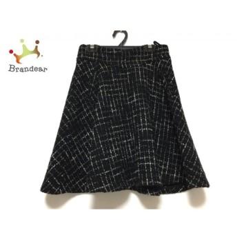 アプワイザーリッシェ Apuweiser-riche スカート サイズ1 S レディース 黒×白 チェック柄 スペシャル特価 20190909