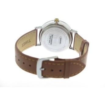 タイメックス TIMEX クオーツ メンズ 腕時計 TW2R29100 ネイビー/ブラウン ネイビー