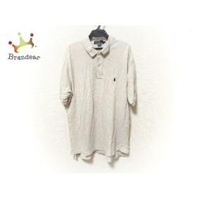 ポロラルフローレン POLObyRalphLauren 半袖ポロシャツ サイズL メンズ ベージュ   スペシャル特価 20190909