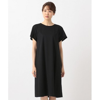 【SALE(伊勢丹)】<自由区> AIRY JERSEY ワンピース(OPWMKA0002) クロ 【三越・伊勢丹/公式】