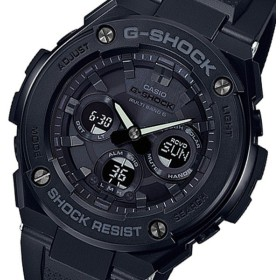 カシオ CASIO Gショック G-SHOCK アナデジ クオーツ メンズ 腕時計 GST-W300G-1A1JF ブラック 国内正規 ブラック