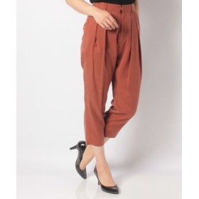 (SHIPS OUTLET/シップス アウトレット)【SHIPS for women】WC: CTN/TEN TUCK WIDE TPD/レディース ブラウン