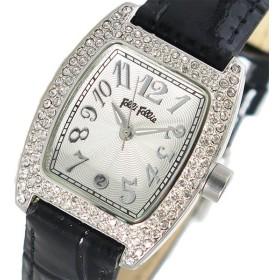 フォリフォリ FOLLI FOLL クオーツ レディース 腕時計 S922ZI-BK ホワイトシルバー ホワイト
