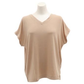 【Super Sports XEBIO & mall店:トップス】【オンライン特価】ボックスVネック 半袖Tシャツ CH2LS9508 BEG
