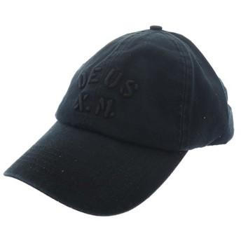 デウスエクスマキナ DEUS EX MACHINA 帽子 キャップ メンズ レディース DMF77769-BLK ブラック ブラック