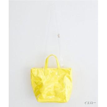 メルロー ラミネートトートバッグ レディース イエロー FREE 【merlot】
