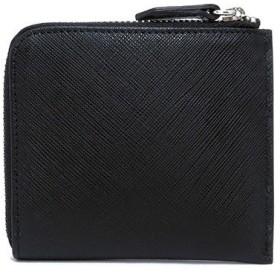 シルバノ ビアジーニ L字型ファスナー 短財布 メンズ 7848040 ブラック/レッド ブラック