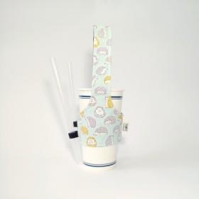 [ハリネズミベビーグリーン]飲料カップセットグリーンカップセット