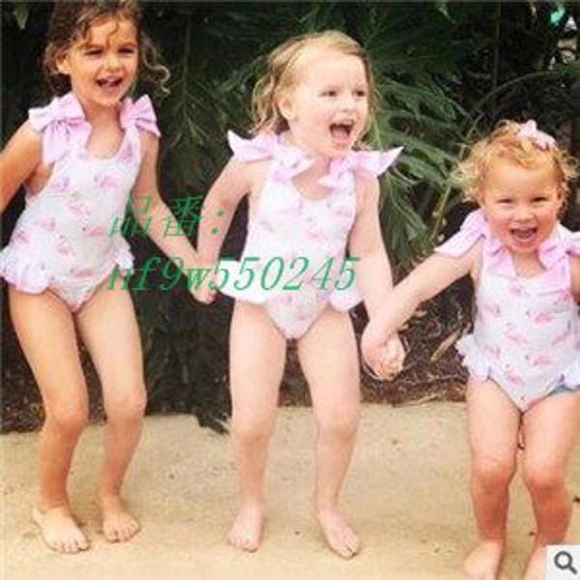 2点セット 水着 帽子 プール 子供 新作 子ども ビキニ 可愛い 夏物 海水浴 タンキニ キッズ スイミングウェア 温泉 ビーチ 女の子 ベビー