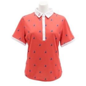 ビバハート(VIVA HEART) ゴルフウェア レディース ピエロプリント 半袖シャツ 012-29543-038 (Lady's)