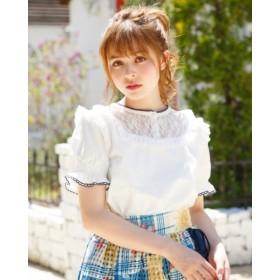 Tシャツ - LIZLISA 【LIZ LISA】レースアップコットントップス☆リズリサ