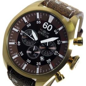 インヴィクタ INVICTA クオーツ メンズ 腕時計 19669 ブラウン ブラウン