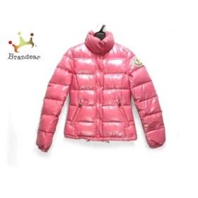 モンクレール ダウンジャケット サイズOO レディース CLAIRE(クレア) 46313-50-68950 ピンク 新着 20190528