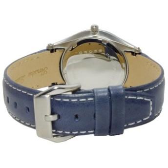 クロス CROSS ルシーダ LUCIDA クオーツ メンズ 腕時計 CR8025-03 ネイビー