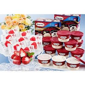 ハーゲンダッツ&苺アイス アイスクリーム・シャーベット