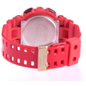 カシオ アナデジ Gショック クオーツ メンズ 腕時計 国内正規 GA-100VLA-4AJF ゴールド レッド ゴールド