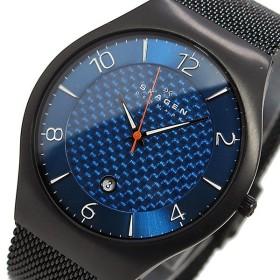 スカーゲン SKAGEN クオーツ メンズ 腕時計 SKW6147 ブルー ブルー