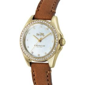 f93535b0ed コーチ COACH トリステン ミニ クオーツ レディース 腕時計 14502314 シェルホワイト ホワイトパール