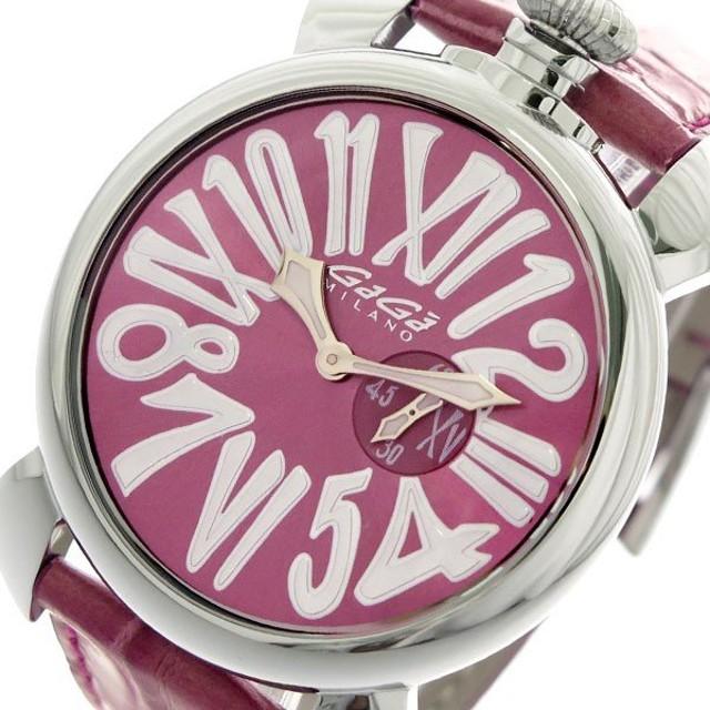 timeless design 855a2 628c3 ガガミラノ GAGA MILANO SLIM スリム 46mm 腕時計 クオーツ ...