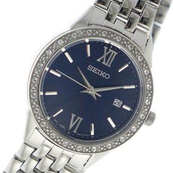 セイコー SEIKO クオーツ レディース 腕時計 SUR691P1 ネイビー ネイビー