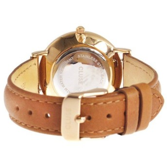 クルース CLUSE ミニュイ レザーベルト 33mm レディース 腕時計 CL30021 ホワイト/キャラメル ホワイト